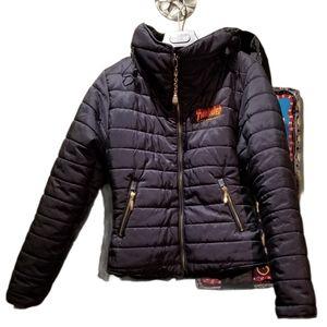 Kids THRASHER Puffer Jacket (Size L)